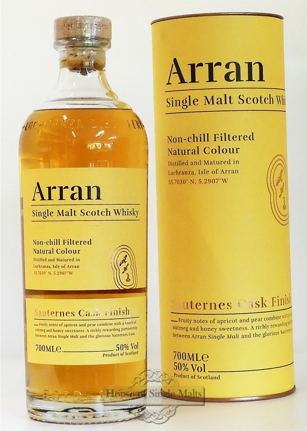 Arran Sauternes Finish