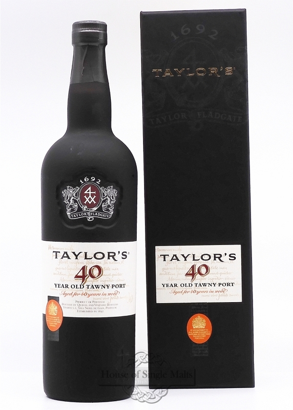 Taylor's Tawny 40 Years
