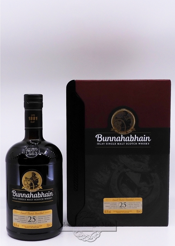 Bunnahabhain 25 Years (neue Version)