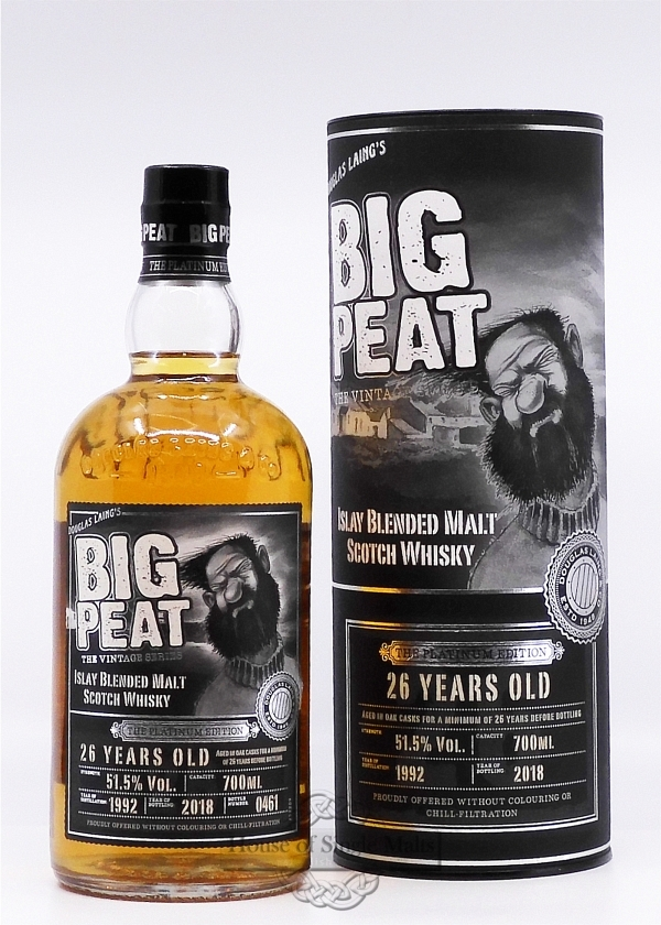 Big Peat 26 Years - The Platinum Edition