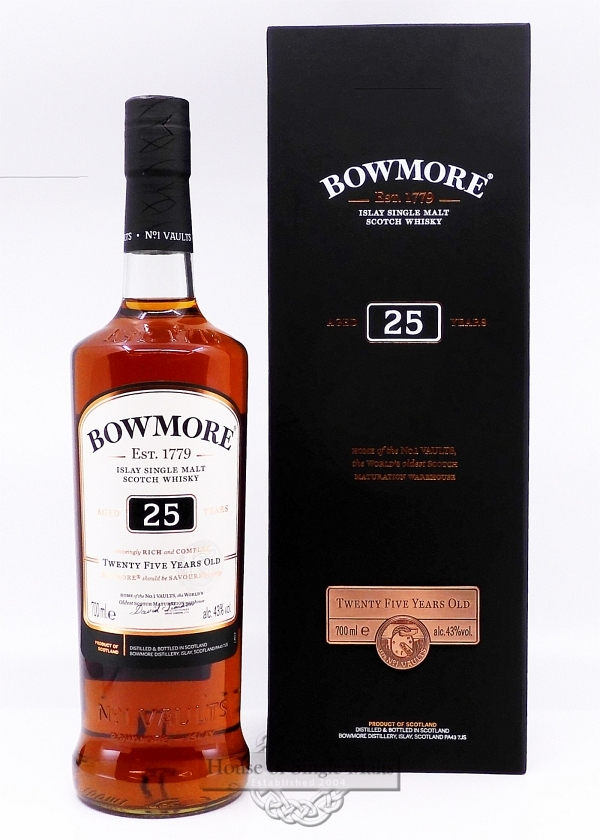 Bowmore 25 Years Small Batch Release