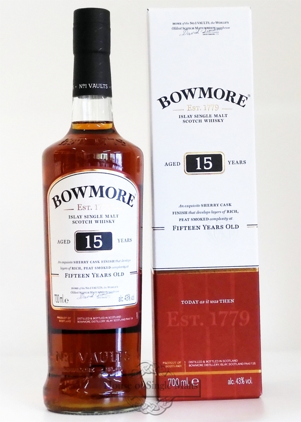 Bowmore 15 Years Sherry Cask Finish