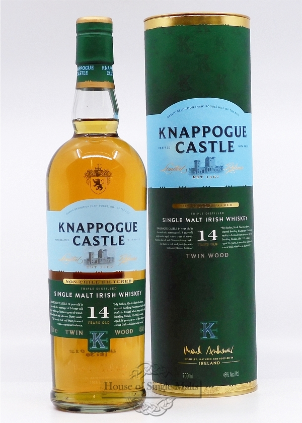 Knappogue Castle 14 Years Twin Wood