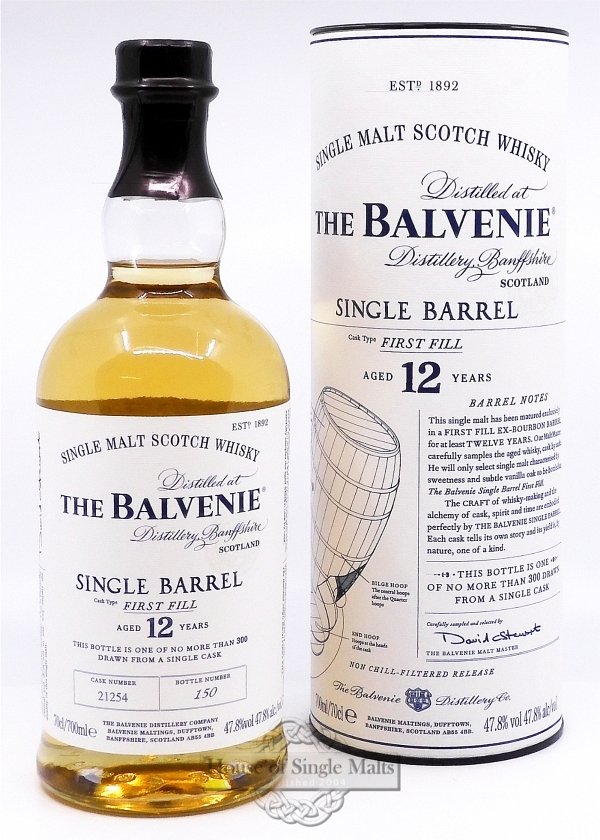 Balvenie 12 Years First Fill Single Barrel