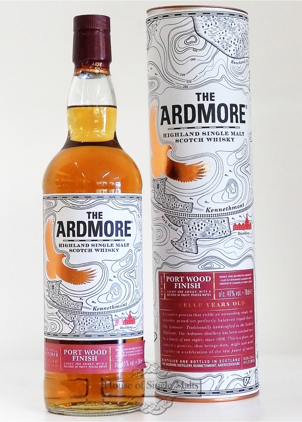 Ardmore 12 Years Port Wood Finish