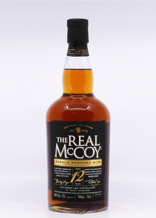The Real McCoy 12 Years (Barbados)