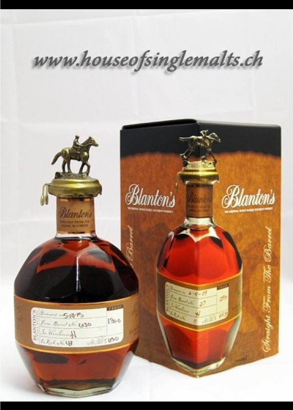 Blanton's Bourbon - Barrel 630