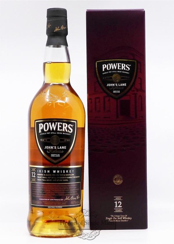 Powers 12 Years John's Lane Release