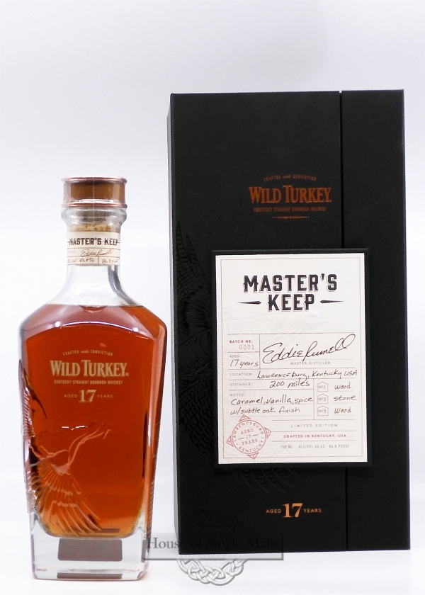 Wild Turkey 17 Years - Master's Keep