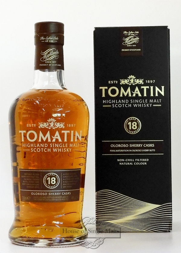 Tomatin 18 Years