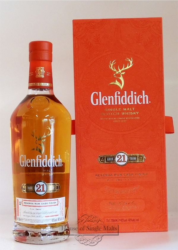 Glenfiddich 21 Years Reserva - Neue Au..