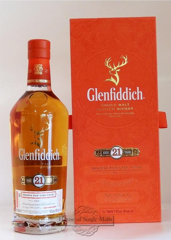 Glenfiddich 21 Years Reserva Rum Cask