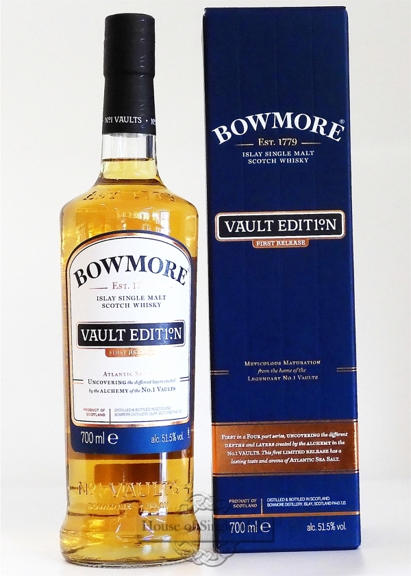 Bowmore Vault Edition 1 - First Release