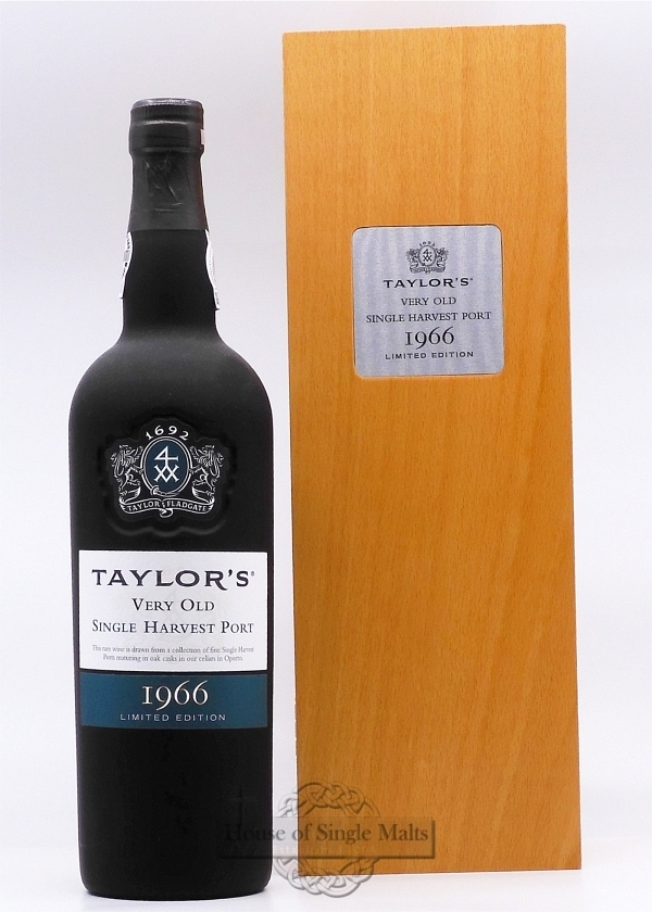 Taylor's 1966 Single Harvest Port