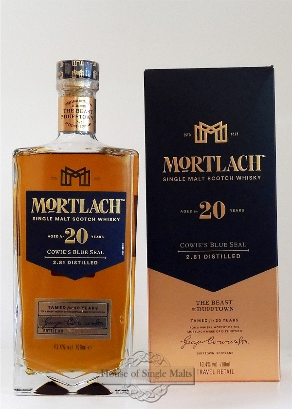 Mortlach 20 Years - Cowie's Blue Seal