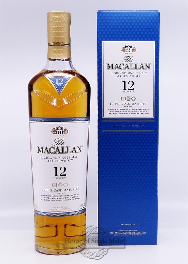 Macallan 12 Years Triple Cask