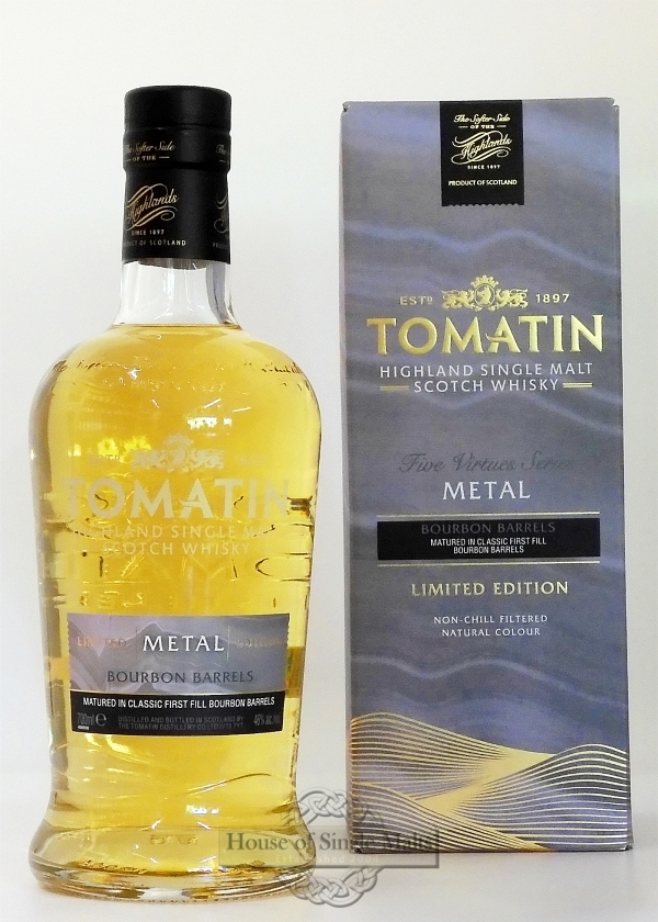 Tomatin The Five Virtues - Metal