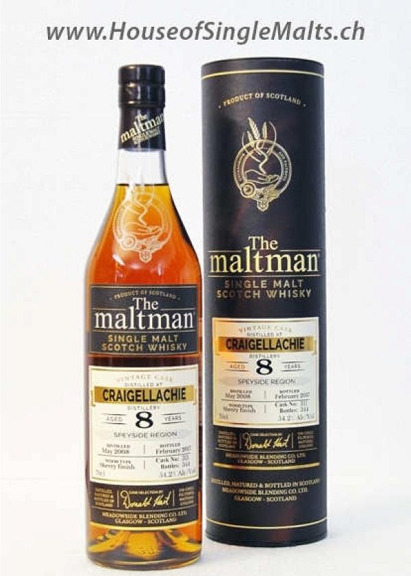 Craigellachie 8 Years - The Maltman