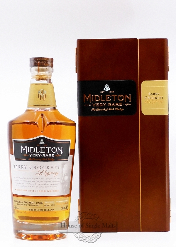 Midleton Barry Crockett - Legacy