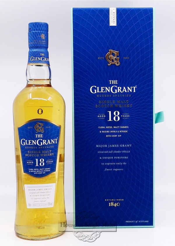 Glen Grant 18 Years - Rare Edition