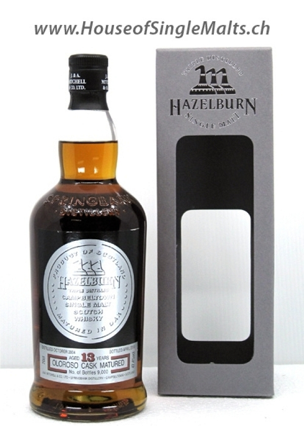 Hazelburn 13 Years - Oloroso Casks