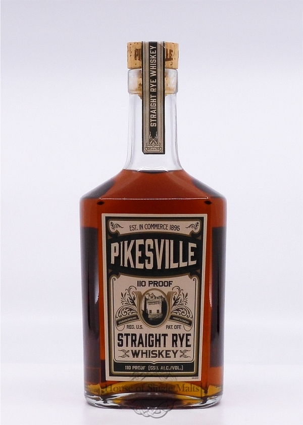 Pikesville - Straight Rye - 110 Proof