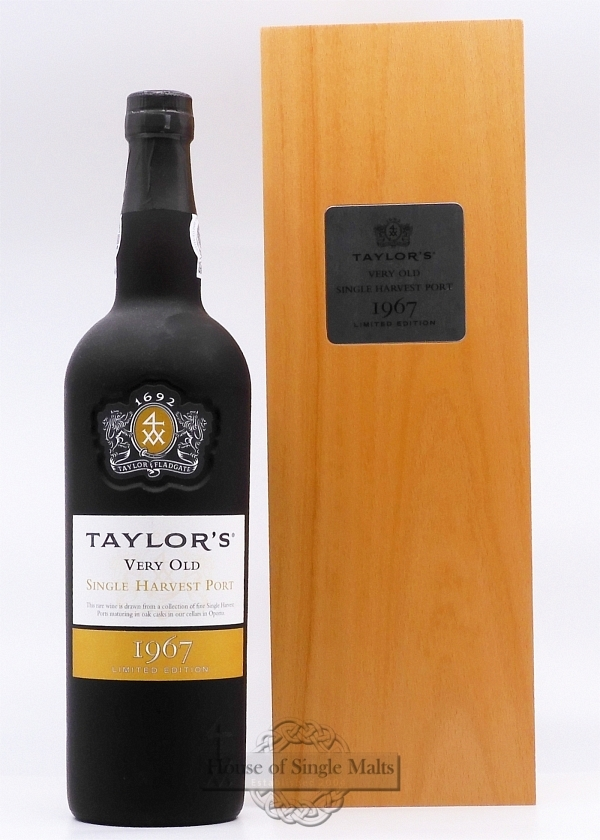 Taylor's 1967 Single Harvest Port