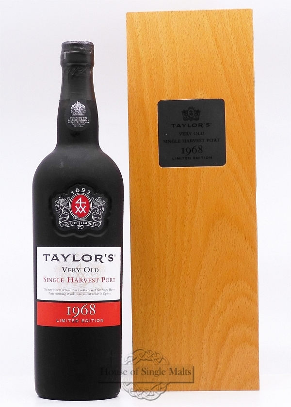 Taylor's 1968 Single Harvest Port
