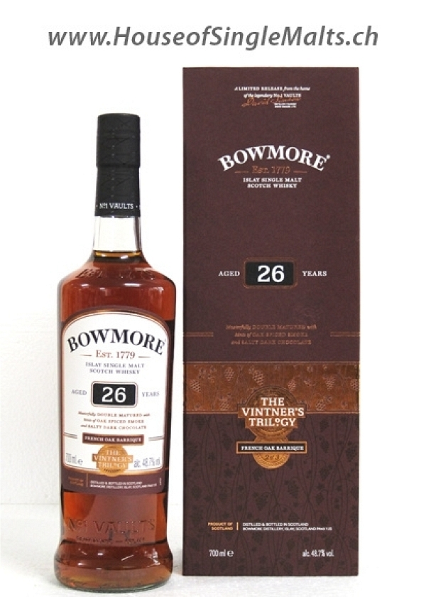 Bowmore 26 Years - French Oak Barrique