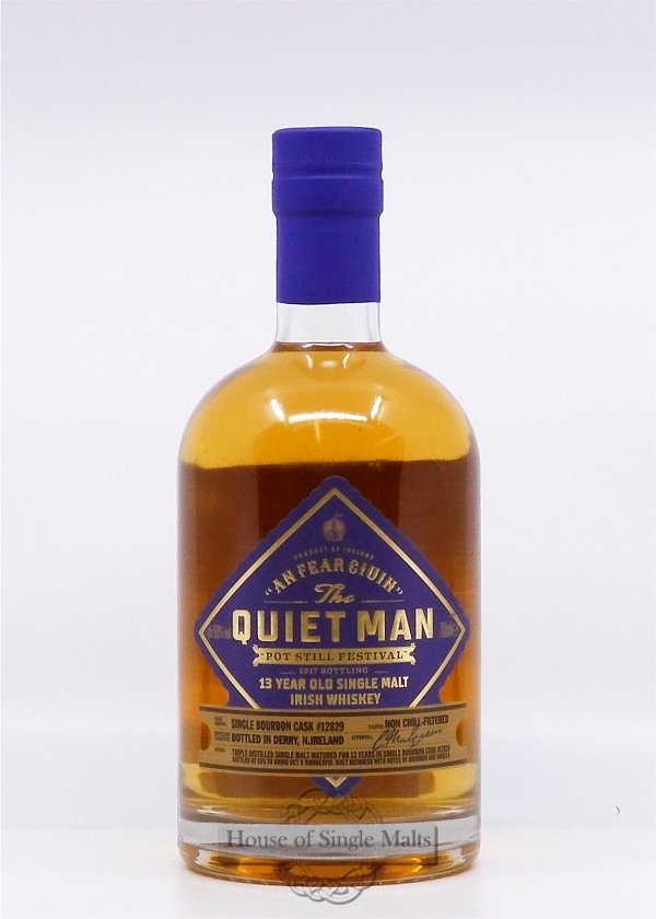 The Quiet Man 13 Years - Pot Still Fes..