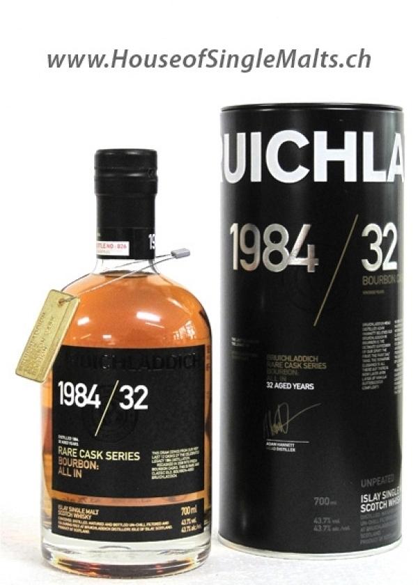Bruichladdich Rare Casks Series 1984