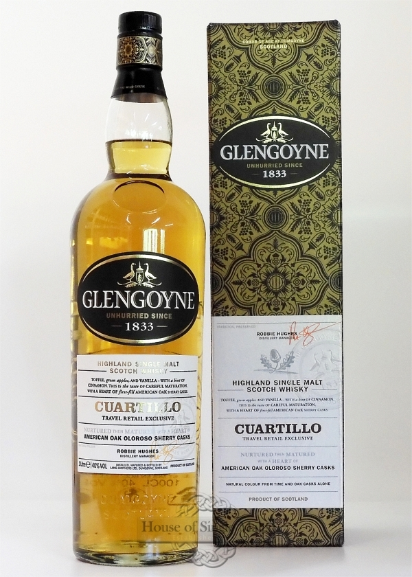 Glengoyne Cuartillo Oloroso Sherry Cask