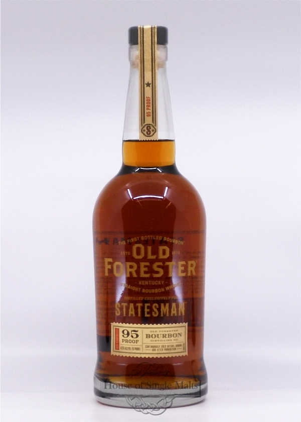 Old Forester Statesman Bourbon - Kings..