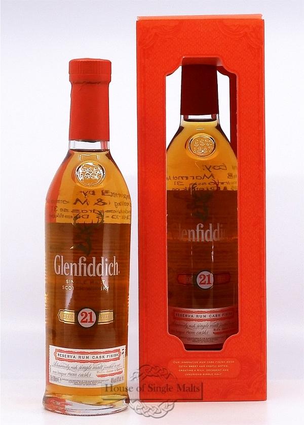 Glenfiddich 21 Years Reserva Rum Cask (20cl)