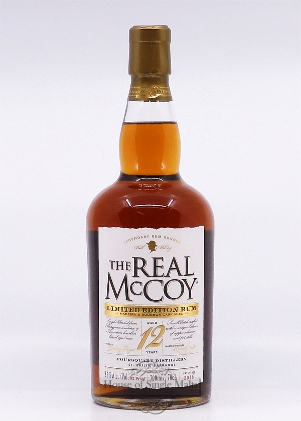 The Real McCoy 12 Years (Barbados) Lim..