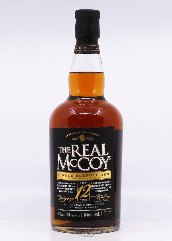 The Real McCoy 12 Years (Barbados) 92 ..