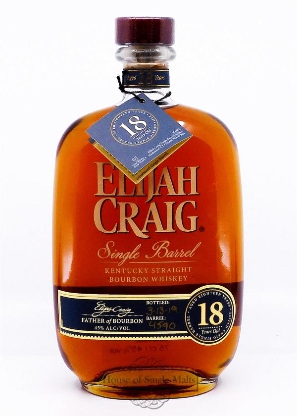 Elijah Craig 18 Years