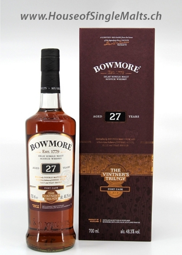 Bowmore 27 Years - Port Cask