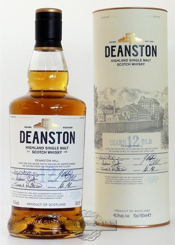 Deanston 12 Years - Neue Ausführung