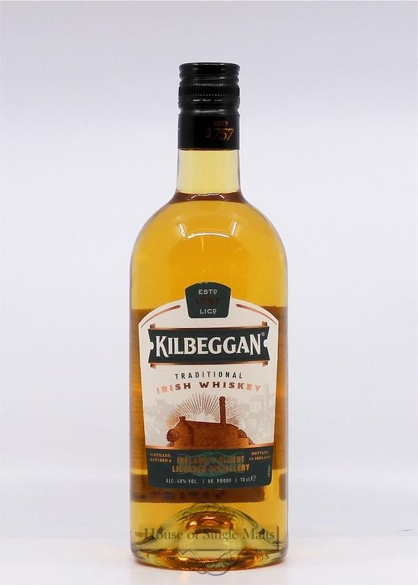 Kilbeggan Blended Irish Whiskey