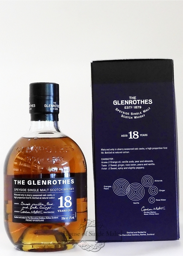Glenrothes 18 Years