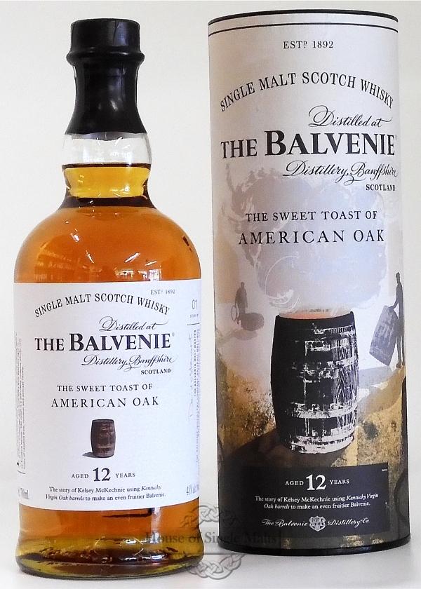 Balvenie 12 Years The Sweet Toast of American Oak