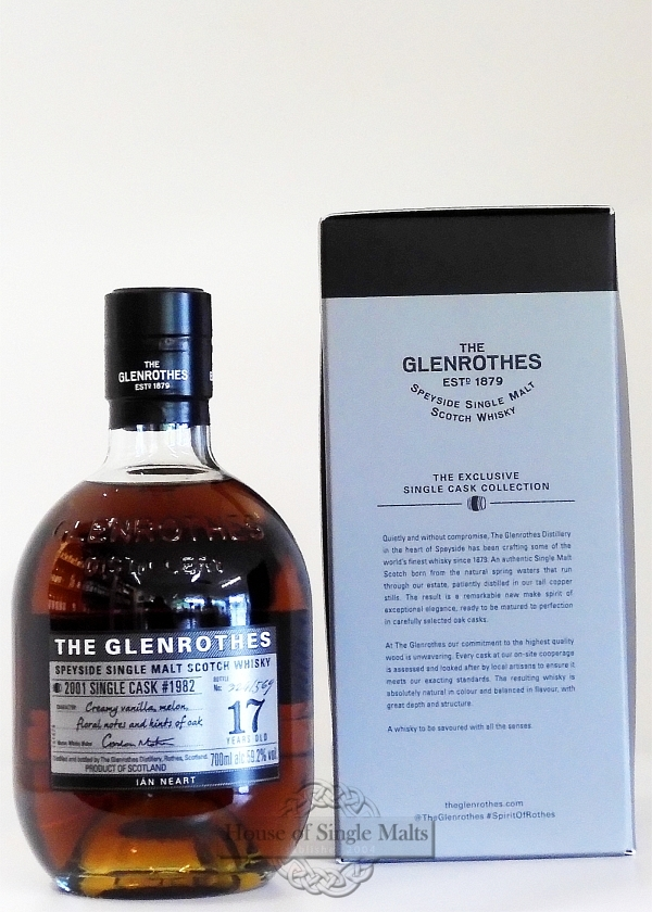 Glenrothes 17 Years (2001) Ian Neart - Single Cask