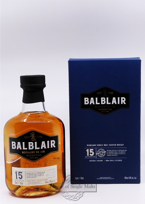 Balblair 15 Years