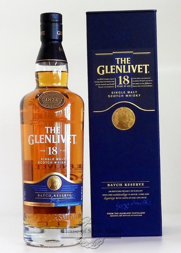 Glenlivet 18 Years - Neue Aufmachung