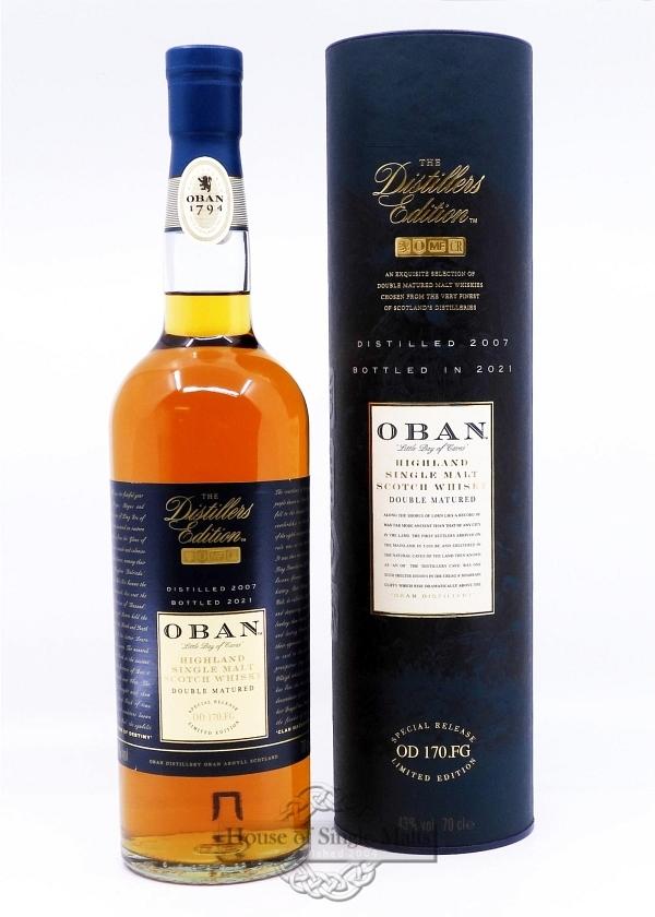 Oban Distillers Edition  2001 (2016)