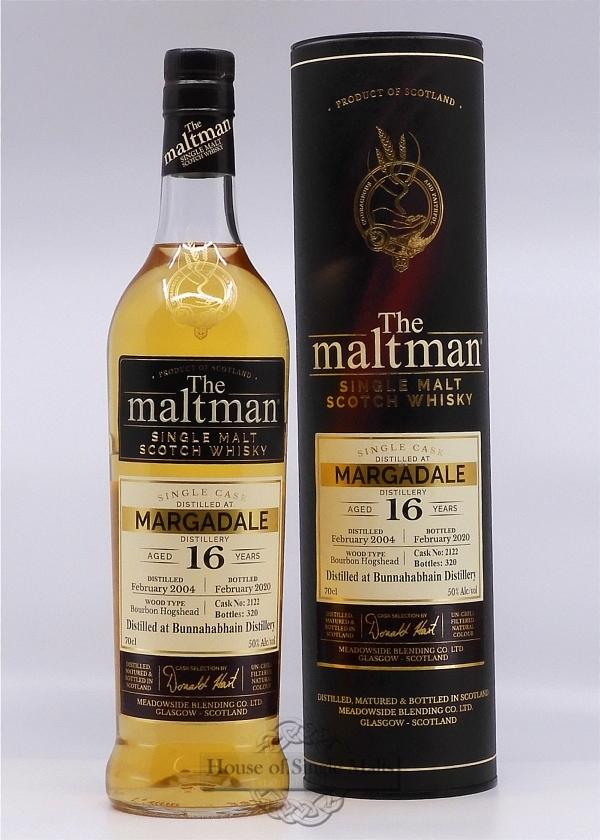 Margadale 16 Years (Bunnahabhain) - The Maltman
