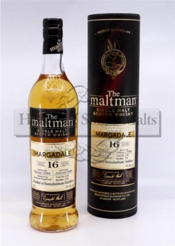 Margadale 16 Years (Bunnahabhain) - The Maltman (Degu-Muster)