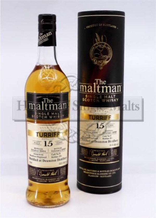 Turriff 15 Years - The Maltman (Degu-Muster)