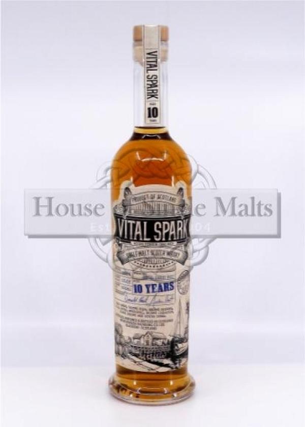 Vital Spark 10 Years Heavily Peated - The Maltman (Degu-Muster)